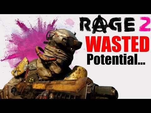 Rage 2 is the Epitome of Wasted Potential...