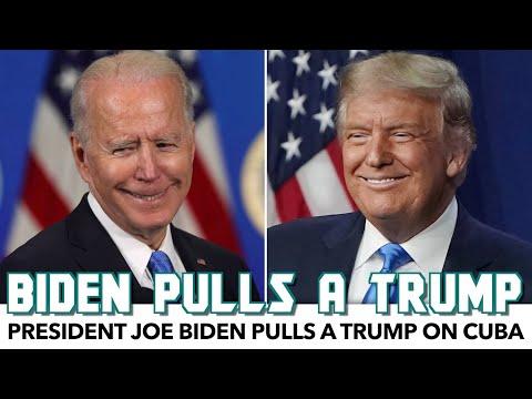 Biden Pulls A Trump On Cuba