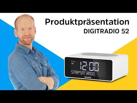 DIGITRADIO 52 | Uhrenradio mit praktischer Wireless-Charging-Fläche. | TechniSat
