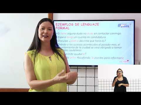 LOS REGISTROS FORMALES E INFORMALES
