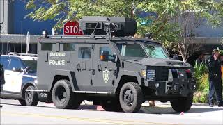 San Diego: SWAT Standoff With Murder Suspect 2/25/2018 - dooclip.me