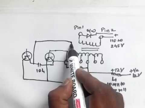 How to convert 12 volt dc to 110v / 120v / 220v / 230 volts AC | Make easy DC to AC inverter