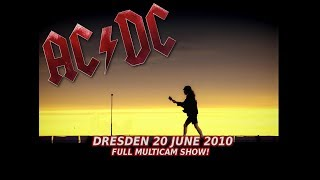 AC/DC - Dresden 2010 FULL CONCERT (BLACK ICE WORLD TOUR)