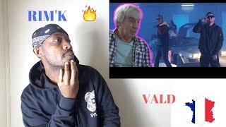 Rim'K - DeLorean ft. Vald REACTION VIDEO