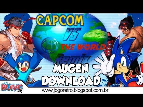 CAPCOM vs  The World MUGEN 2018 (Street Fighter / Final Fantasy / Metal  Gear / KOF / Marvel) - Ruivo ™