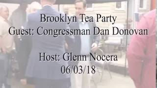 Brooklyn Tea Party meeting from 06/03/18 - with congressman Dan Donovan