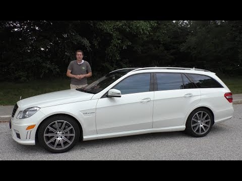 I Bought a Mercedes E63 AMG Wagon and Drove It 1200 Miles Home