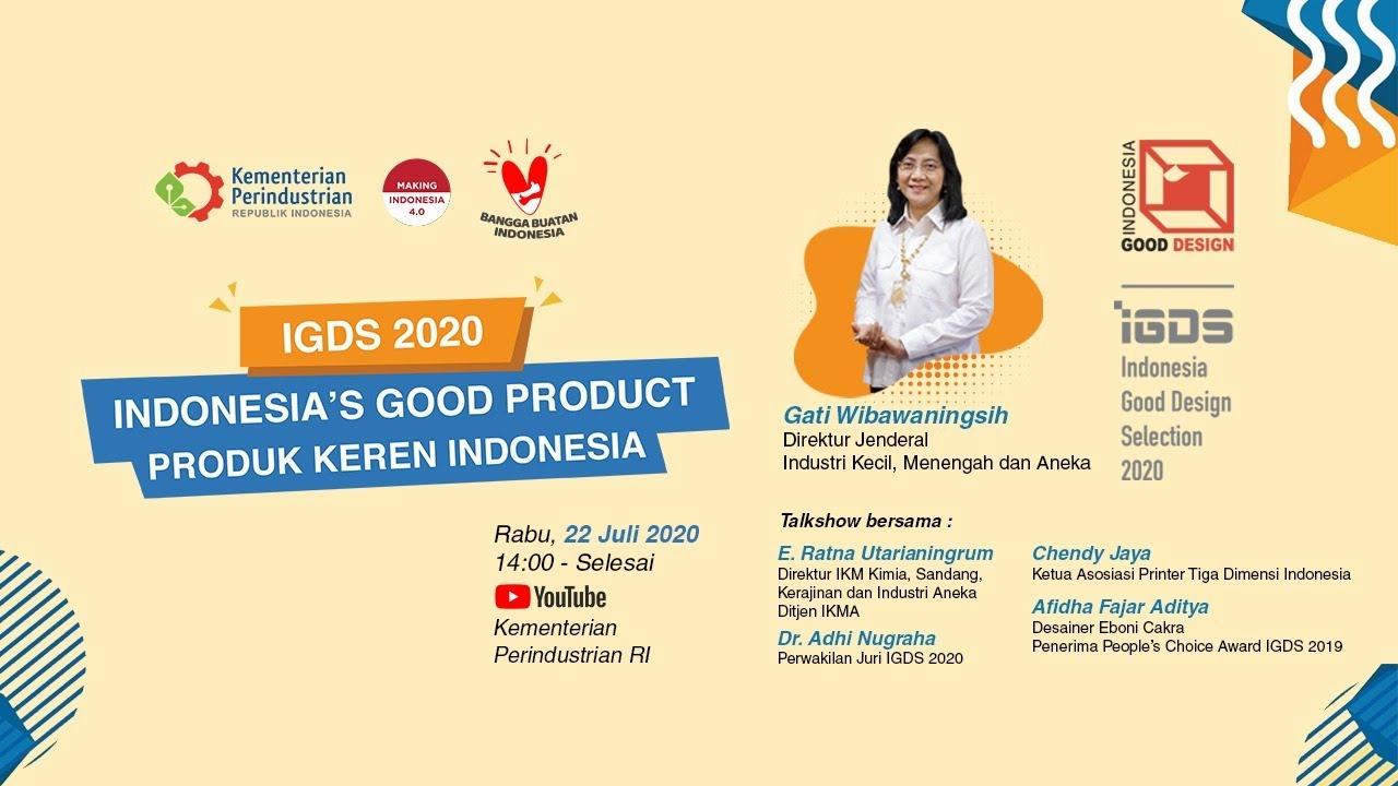Launching IGDS 2020 : Produk Keren Indonesia