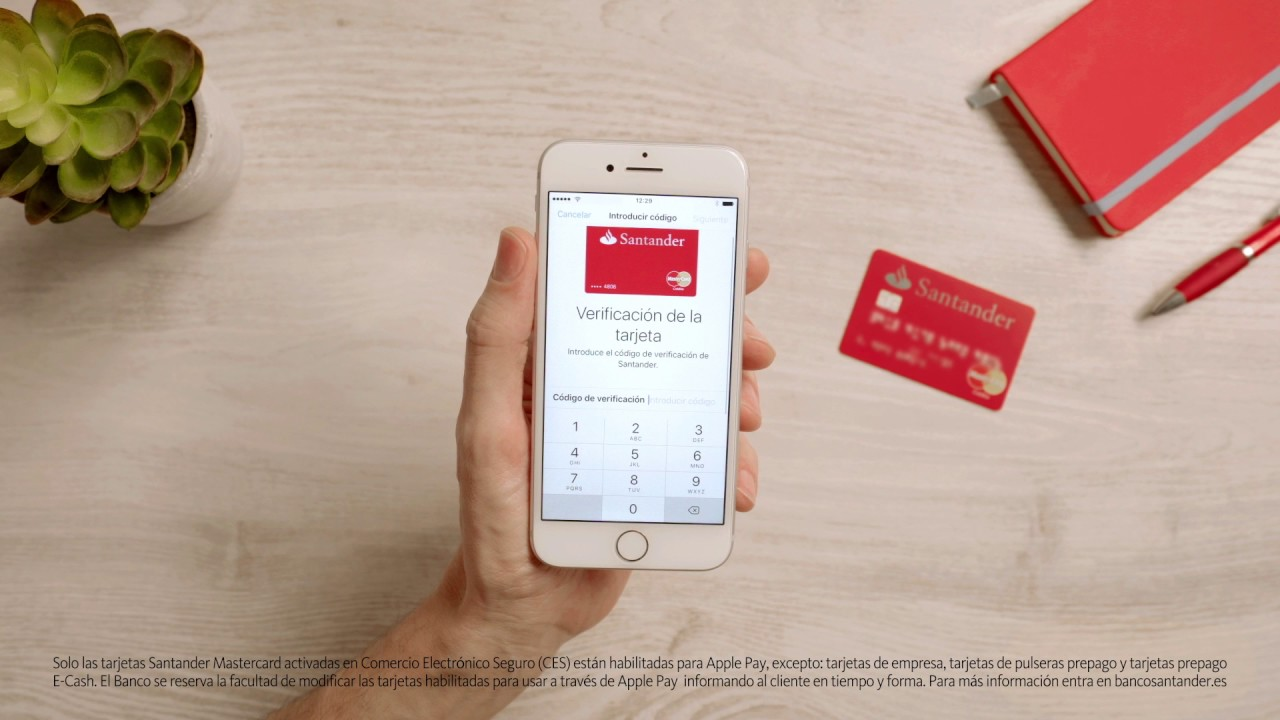 Banco Santander – Apple Pay