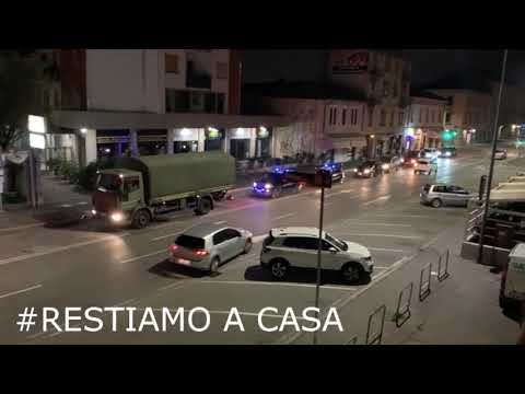 Military convoy carries coffins out of Bergamo, Italy because the city graveyard can't handle the volume of dead bodies