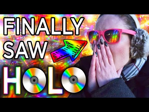 THESE GLASSES MADE ME SEE EVERYTHING IN HOLO!!