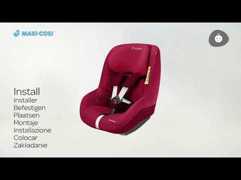 Maxi-Cosi автокресло Pearl 2way Red OrChid ( 9-18 кг)