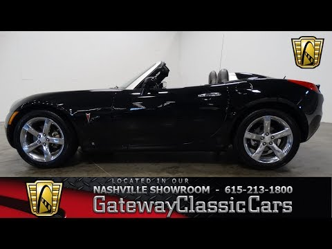 Video of 2009 Pontiac Solstice Offered by Gateway Classic Cars - Nashville - LC35