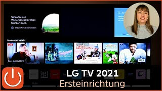 LG TV 2021 Ersteinrichtung Thomas Electronic Online Shop Erstinstallation LG LineUp 2021 webOS 6.0