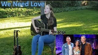We Need Love By John Legend (written By Tebby Burrows)   Cover By Kendra Dantes