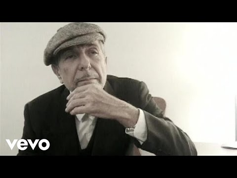 Leonard cohen music video clip and other related videos for Leonard cohen music videos