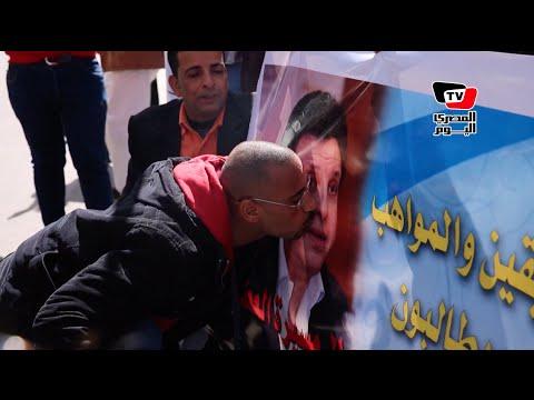 وقفة أمام نقابة «الموسيقيين» لرفض استقالة هاني شاكر