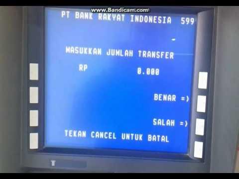 Cara Transfer via ATM Bri ke Bni