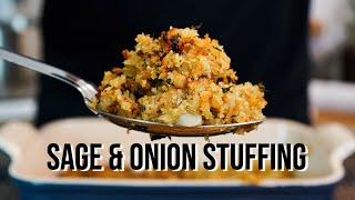 The Easiest and Tastiest Sage and Onion Stuffing | Christmas Recipe