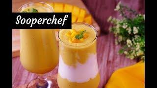 Mango Banana Smoothie | Mix Fruit Smoothie | Summer Special Drinks | Sooperchef