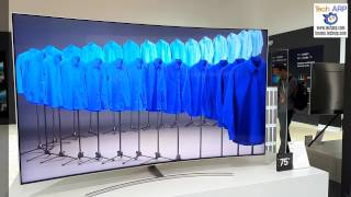 """The 75"""" Samsung 75Q8C Curved QLED TV Quick Look"""