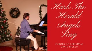 Hark The Herald Angels Sing (Carols Of Christmas) David Hicken - Piano Solo