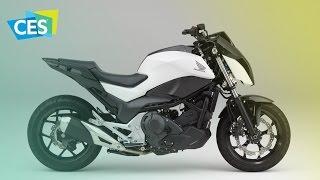 Этот мотоцикл ездит сам по себе