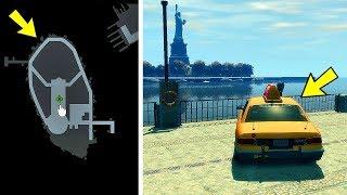 Что будет, если отправить такси на остров Статуи Свободы в GTA 4?