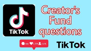TikTok Creator's Fund Questions Answered -Canadian Edition