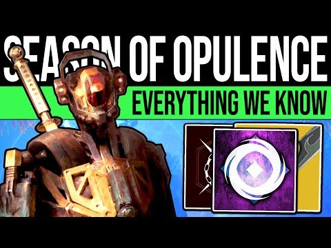 Destiny 2 | Season of Opulence: Everything We Know, New Content & DLC Prep (The Roundup)