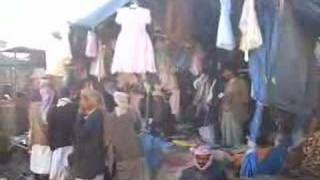 preview picture of video 'Scene from a market in Yemen'