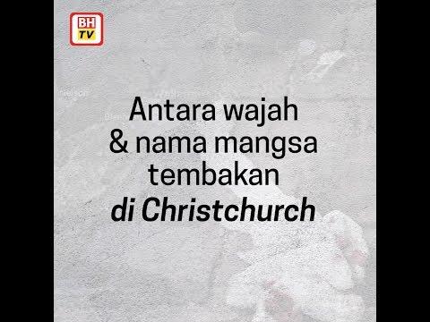 Antara wajah & nama mangsa tembakan di Christchurch