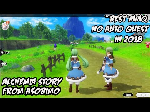 Alchemia Story Gameplay Android / iOS (MMORPG) (JP