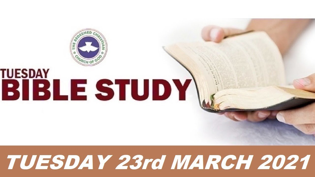 RCCG Bible Study 23rd March 2021 Live