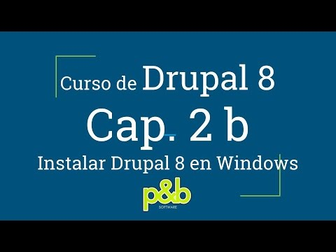 imagen de  2B | 在Windows中安装的Drupal 8 8