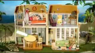 Hannah Montana Malibu Beach Doll House