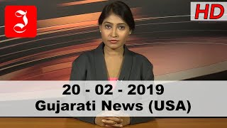 News Gujarati USA 20th Feb 2019