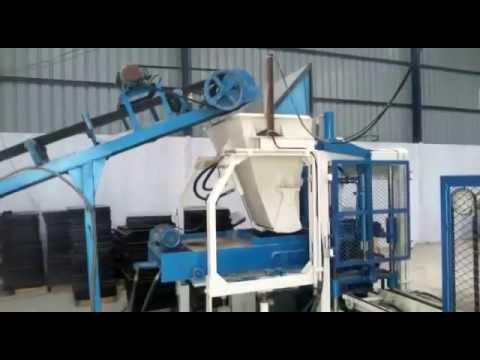 High Density Concrete Block Making Machine