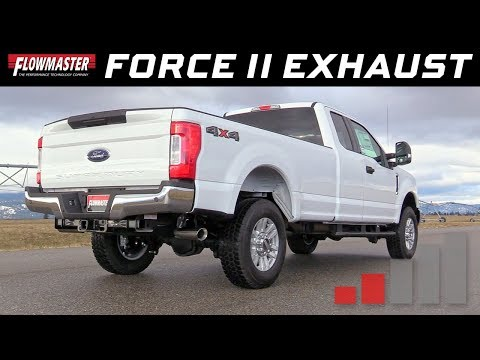 2017-19 Ford F-250/F-350 SuperDuty 6.2L - Force II Cat-back Exhaust System 817757