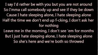Drake - Hate Sleeping Alone (Lyrics Video) - Official Video