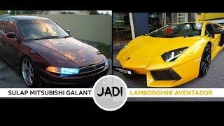 Modify Mitsubishi Galant to be Lamborghini Aventador. WOWWW...!!!