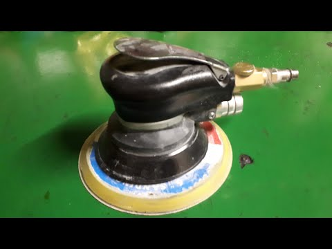 Доработка китайского пневмошлифмашинки fubag sr 150 cv