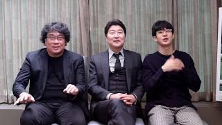Meet Bong Joon-ho, Song Kang-ho and Choi Woo-shik | Interview with Parasite (기생충) Cast