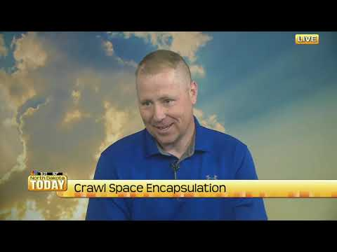 System design specialist, Casey Bratholt, visits the set of North Dakota Today to discuss the importance of crawlspace encapsulation.