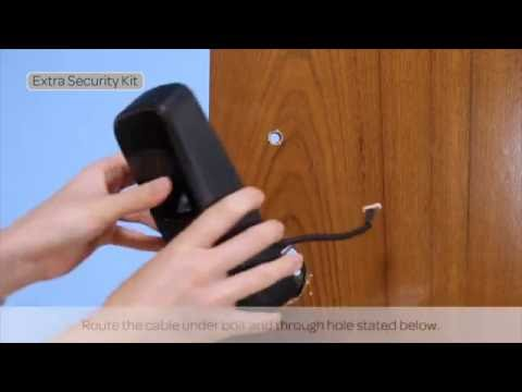 Ultraloq UL3 BT Bluetooth Enabled Fingerprint and Touchscreen Smart Lock Installation Guide