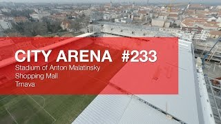 preview picture of video 'CITY ARENA (4K) - (233) Aircam Video #4 (1. Marec 2015) [DRONE]'