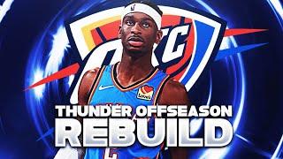 OLD STAR RETURNS!? OKC THUNDER OFFSEASON REBUILD! (NBA 2K21)