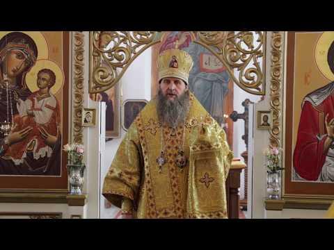 Проповедь в храме Петра и Павла Черемухово