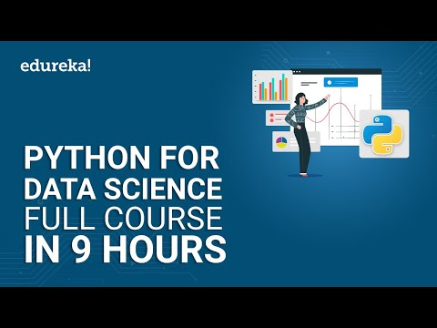 Python For Data Science Full Course - 9 Hours   Data Science With ...