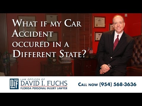 What If My Car Accident Occurred in a Different State?